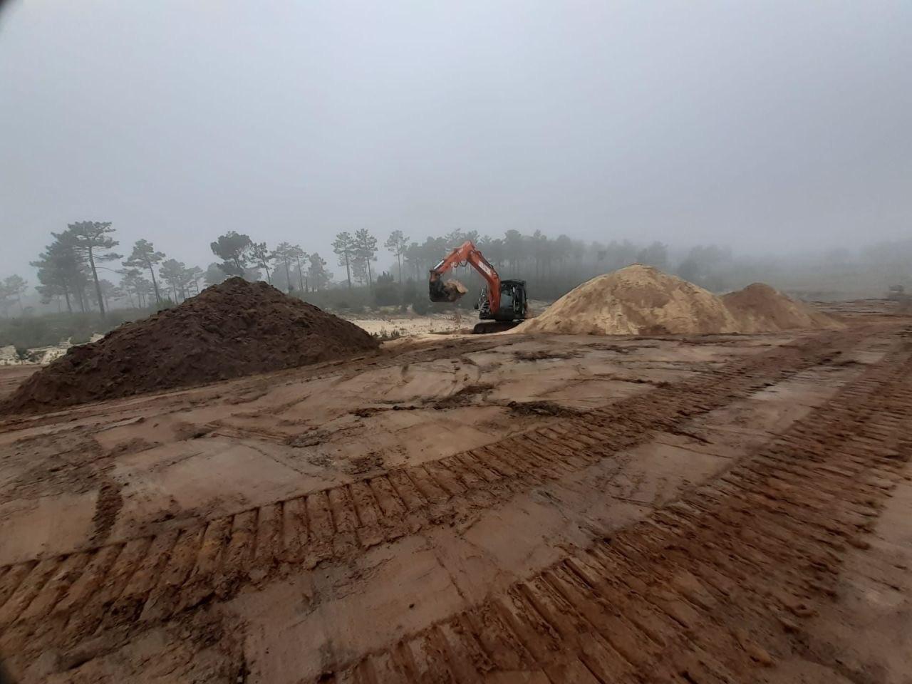 Obras a decorrer no projeto Torre, no concelho de Alcácer do Sal / Vanguard Properties