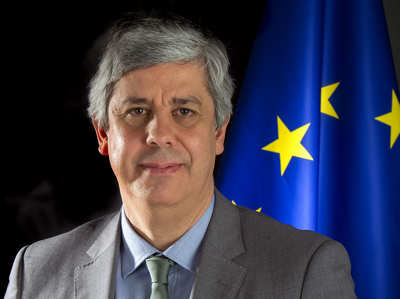 Mário Centeno. / https://www.consilium.europa.eu/