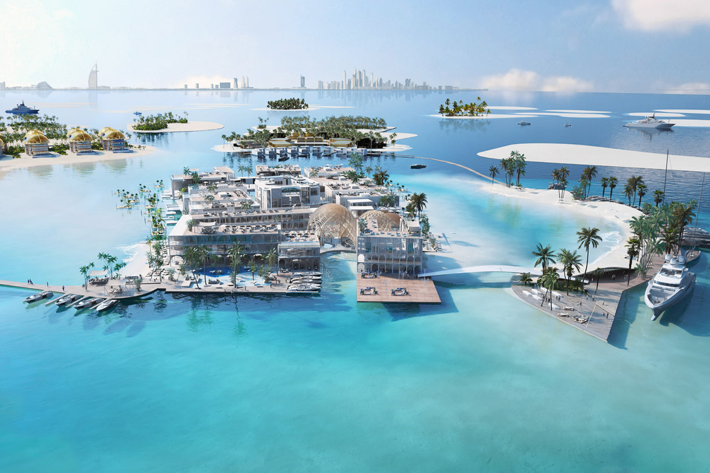 The Floating Lido / The Heart of Europe