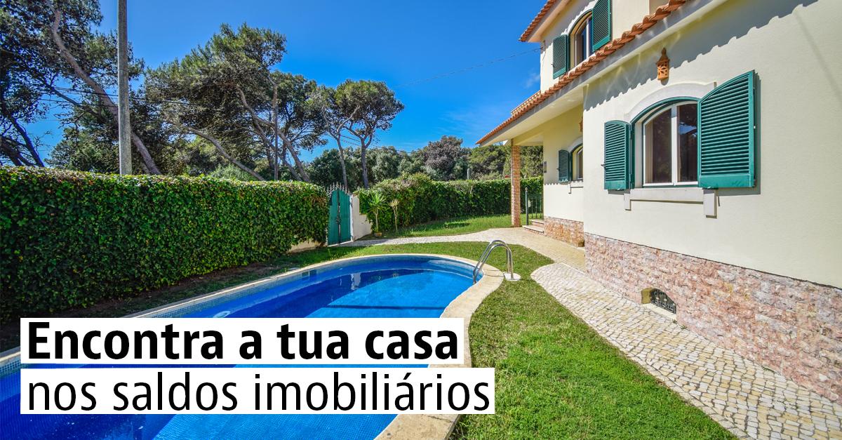 25 casas com desconto à venda em Portugal