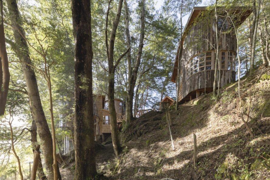 Tiny Houses Comarca County, Chiloé /  © Gustavo Burgos/Utreras Arquitectos