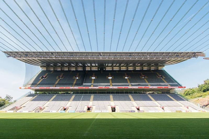 """""""APedreira"""", o atual estádio do SC Braga / Fernando Stankuns/ Flickr"""