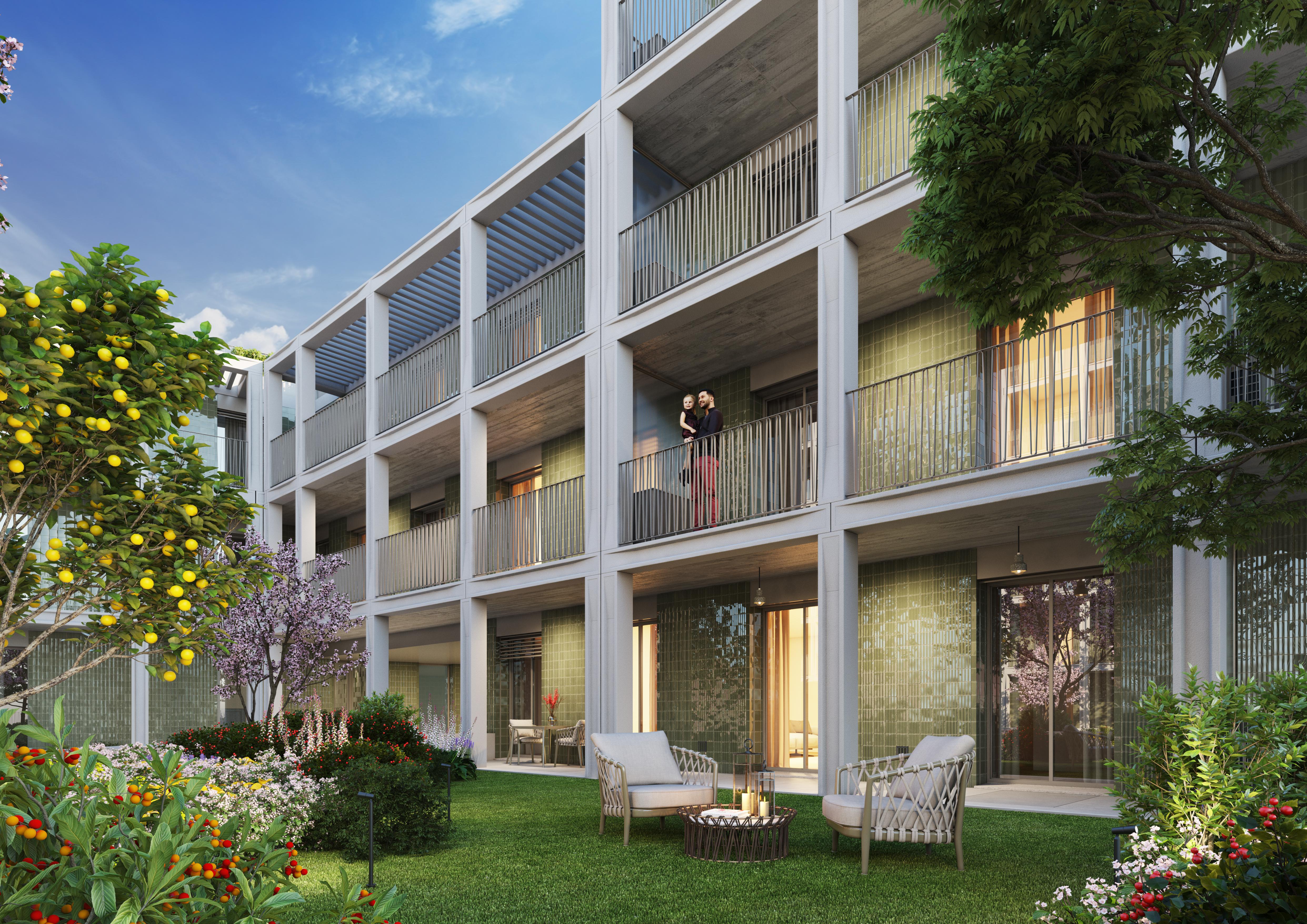 Os espaços exteriores e jardins são uma mais-valia / Nexity