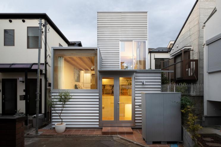 Casa pré-fabricada em Tóquio - só tem 50 m2