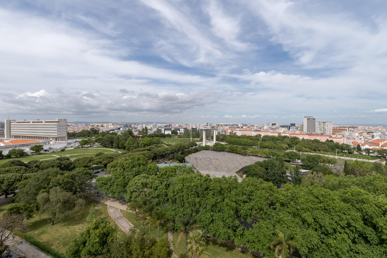 Vistas para o Parque Eduardo VII desde o 11º andar / Catarina Lopes