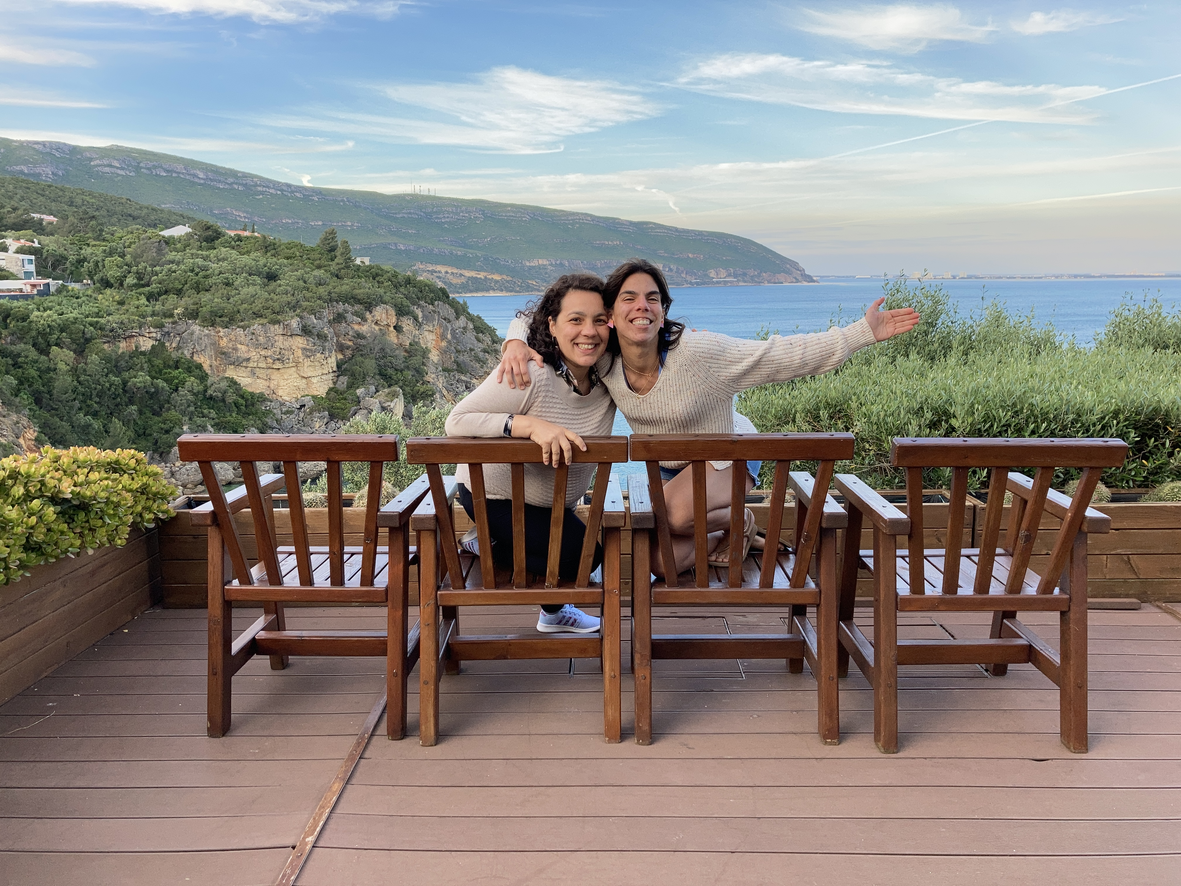 Tânia e Andreia, as duas mentoras do projeto. / Contas €m Dia