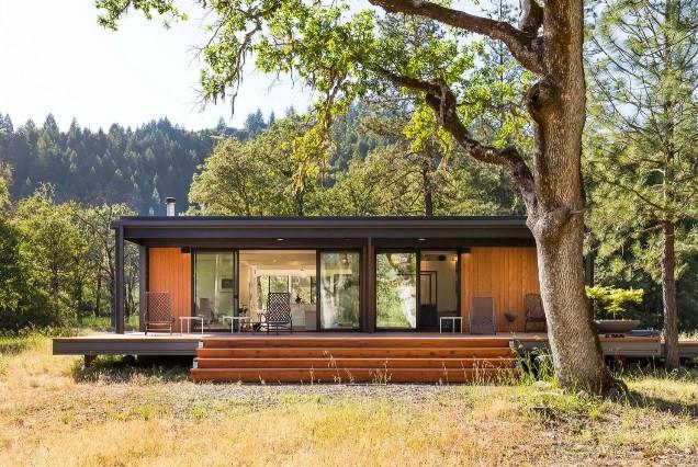 Casas pré-fabricadas inspiradas na Apple