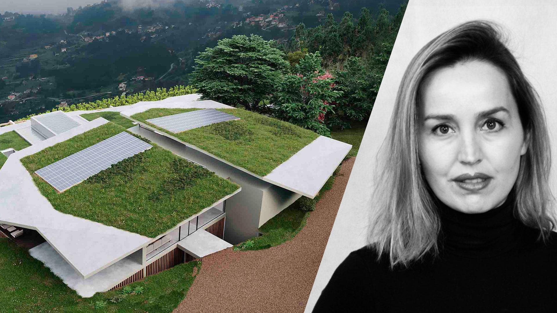 Maria João Andrade, fundadora do atelier MJARC Arquitectos