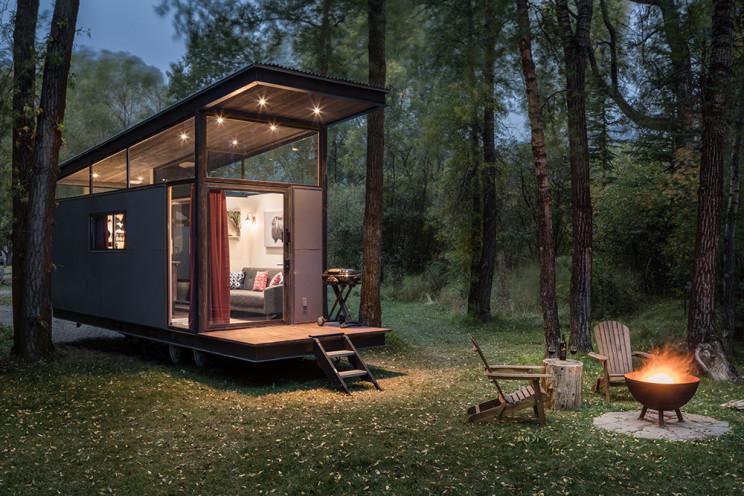 Mini casa pré-fabricada com apenas 23 m2