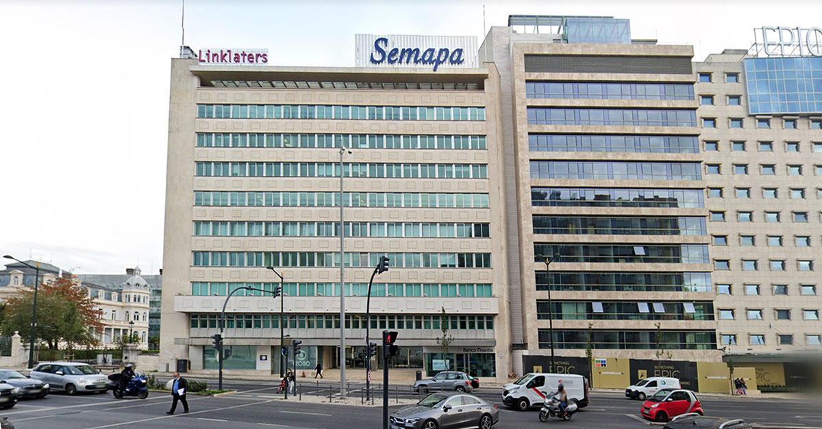 Sede da Semapa em Lisboa / Google Maps