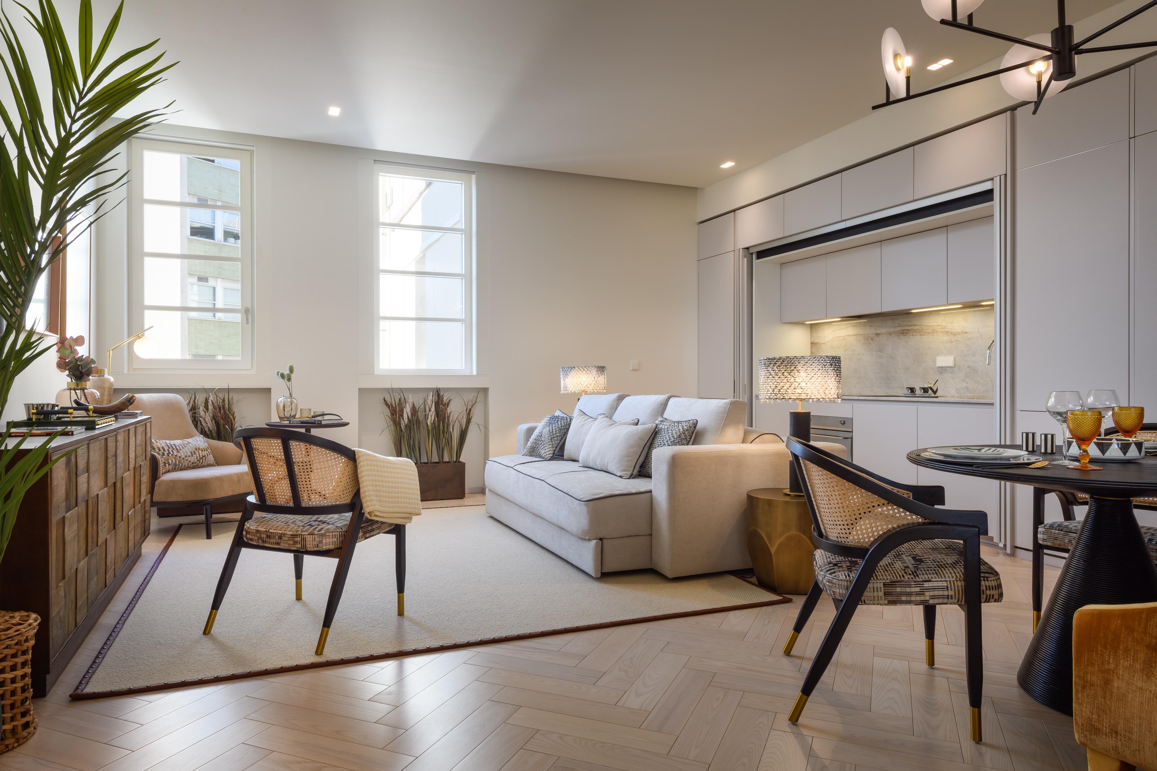 Apartamento T0 no 266 Liberdade / Filipa Fleming Interior Design