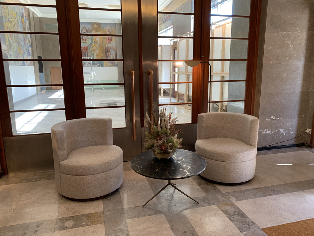 'Foyer' do 266 Liberdade / Filipa Fleming Interior Design