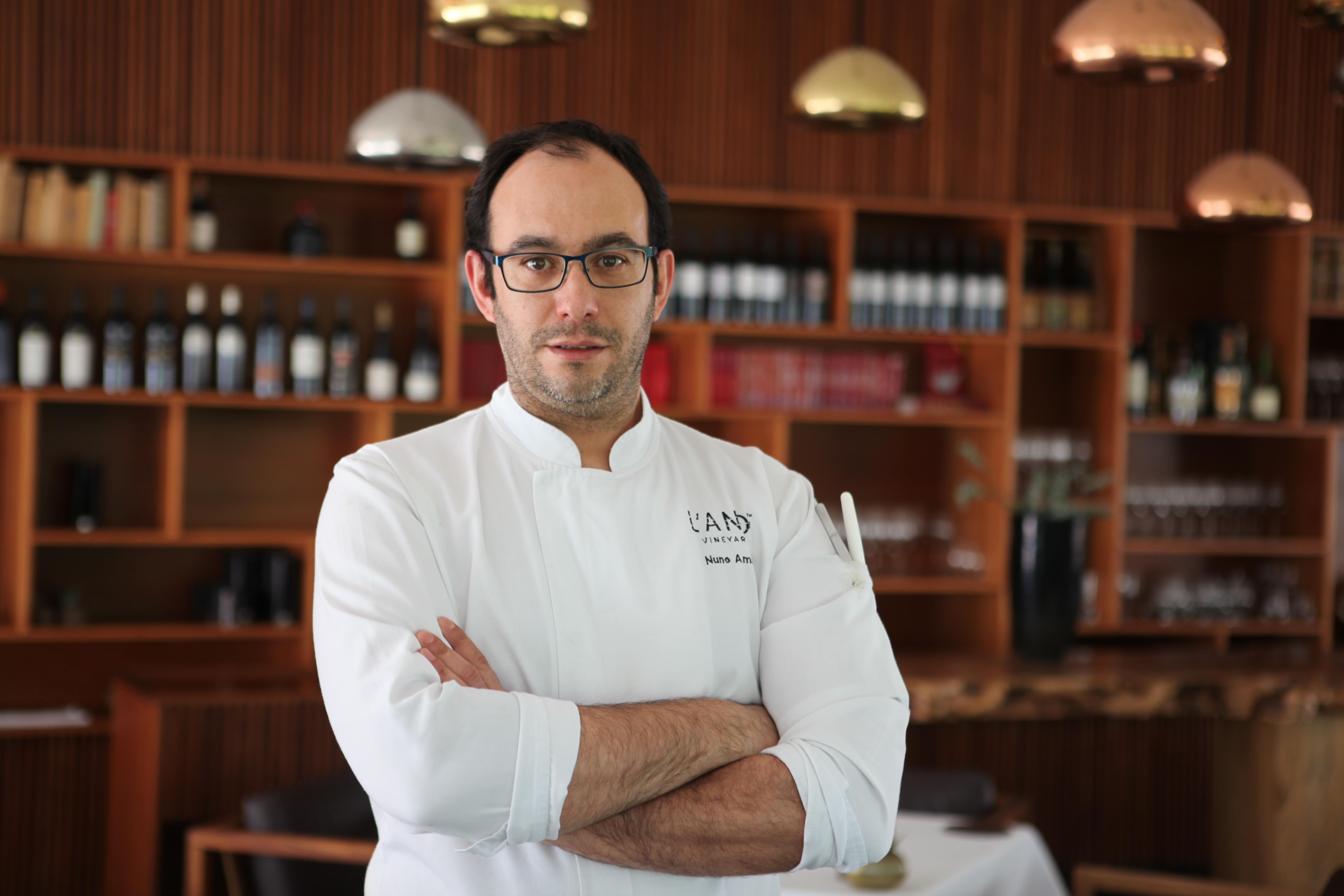 Nuno Amaral, chef do restautante L'AND Vineyards / ilusao.otica