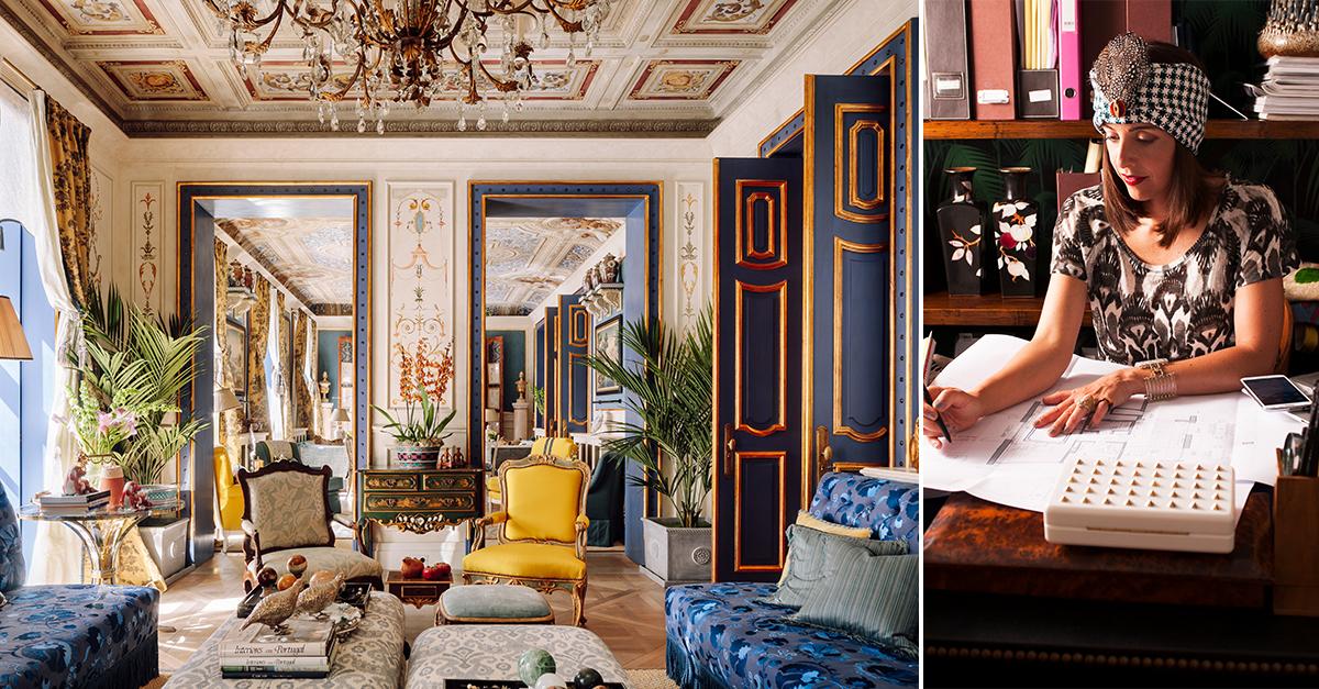 Gracinha Viterbo, uma das mais reconhecidas designers de interiores portuguesas