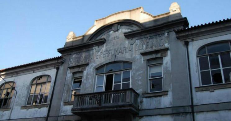 Antiga fábrica Confiança, em Braga. Foto: CM Braga