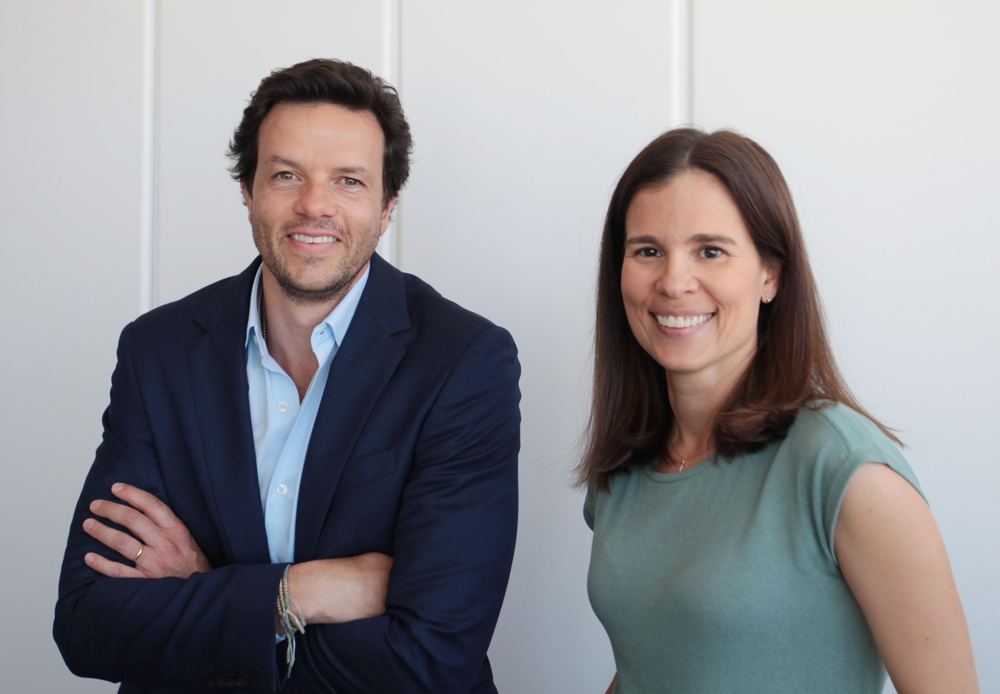 Vasco Pereira Coutinho, diretor geral da Lince, e Vera Eloy, diretora comercial / Lince Real Estate