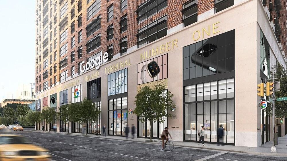 Futura loja da Google em Nova Iorque