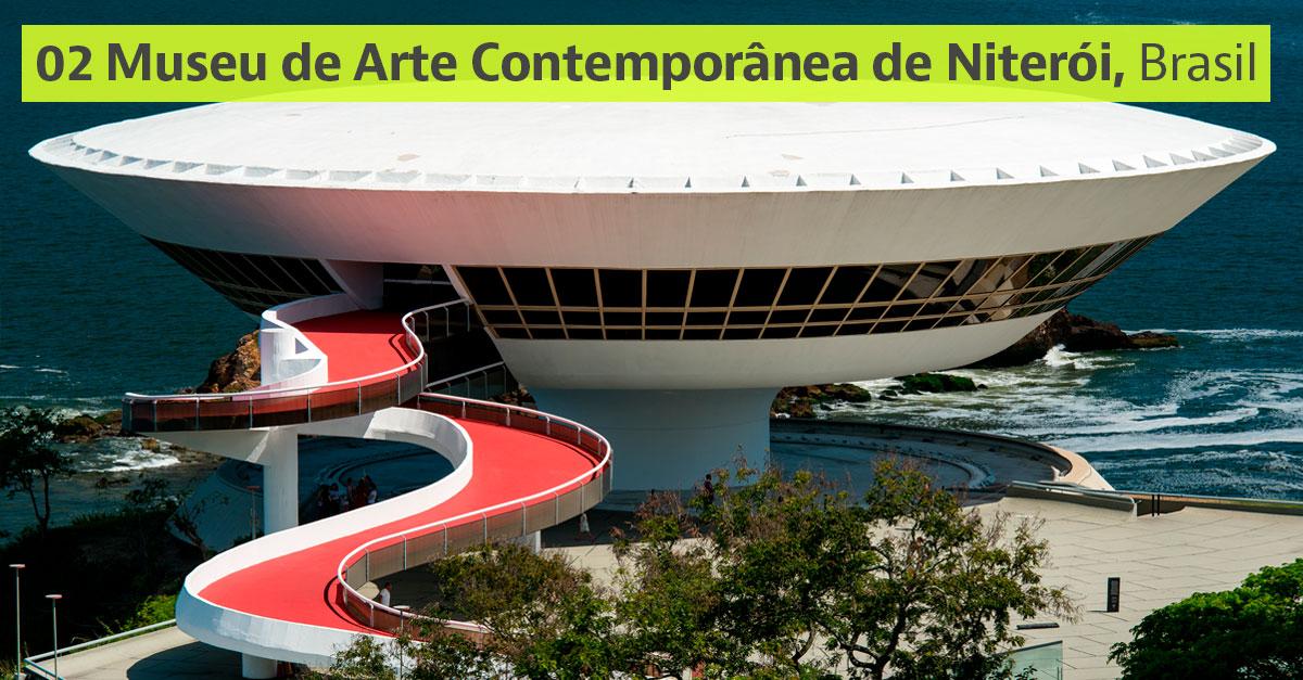 Museu de Arte Contemporânea de Niterói, Brasil