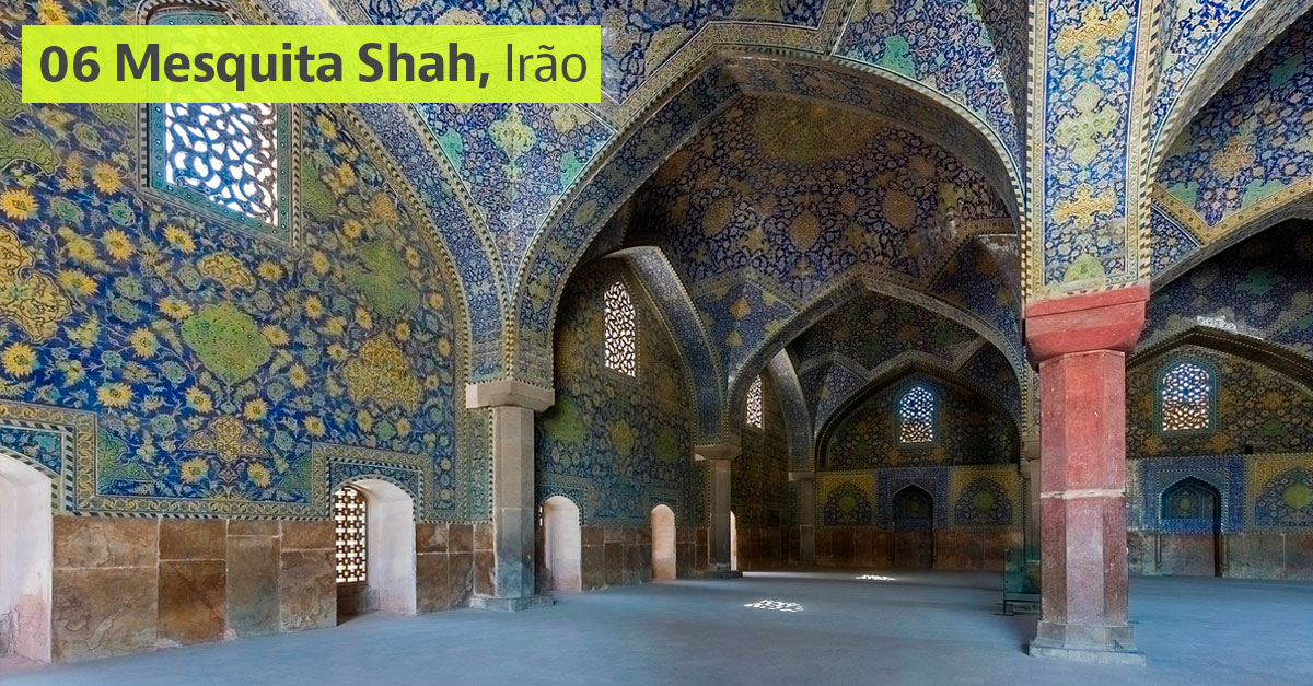 Mesquita Shah, Irão