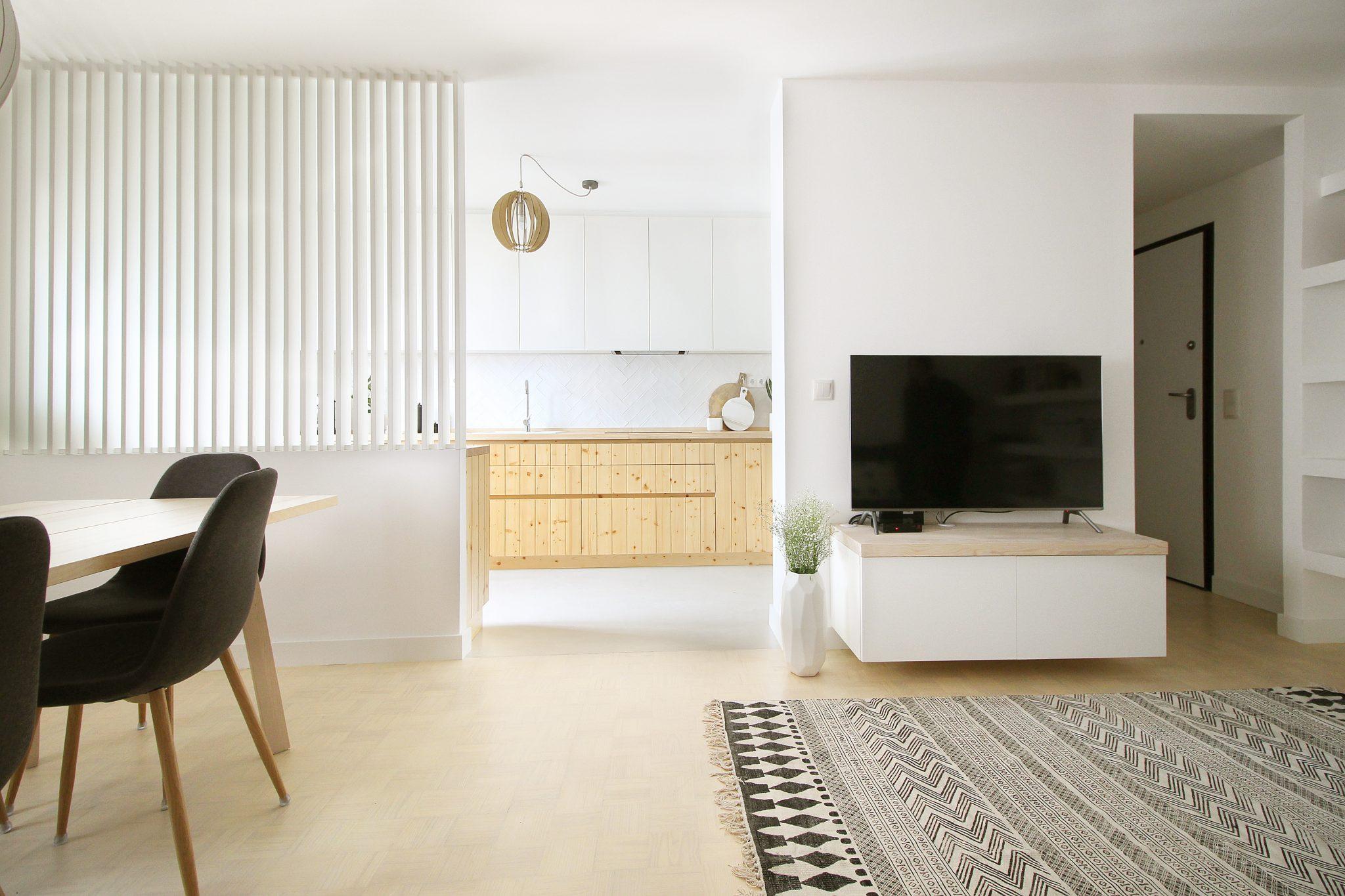 A sala e cozinha da Teresa / Homestories