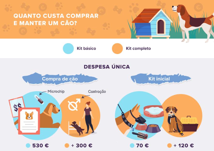 Quanto custa comprar e manter um cão e um gato?