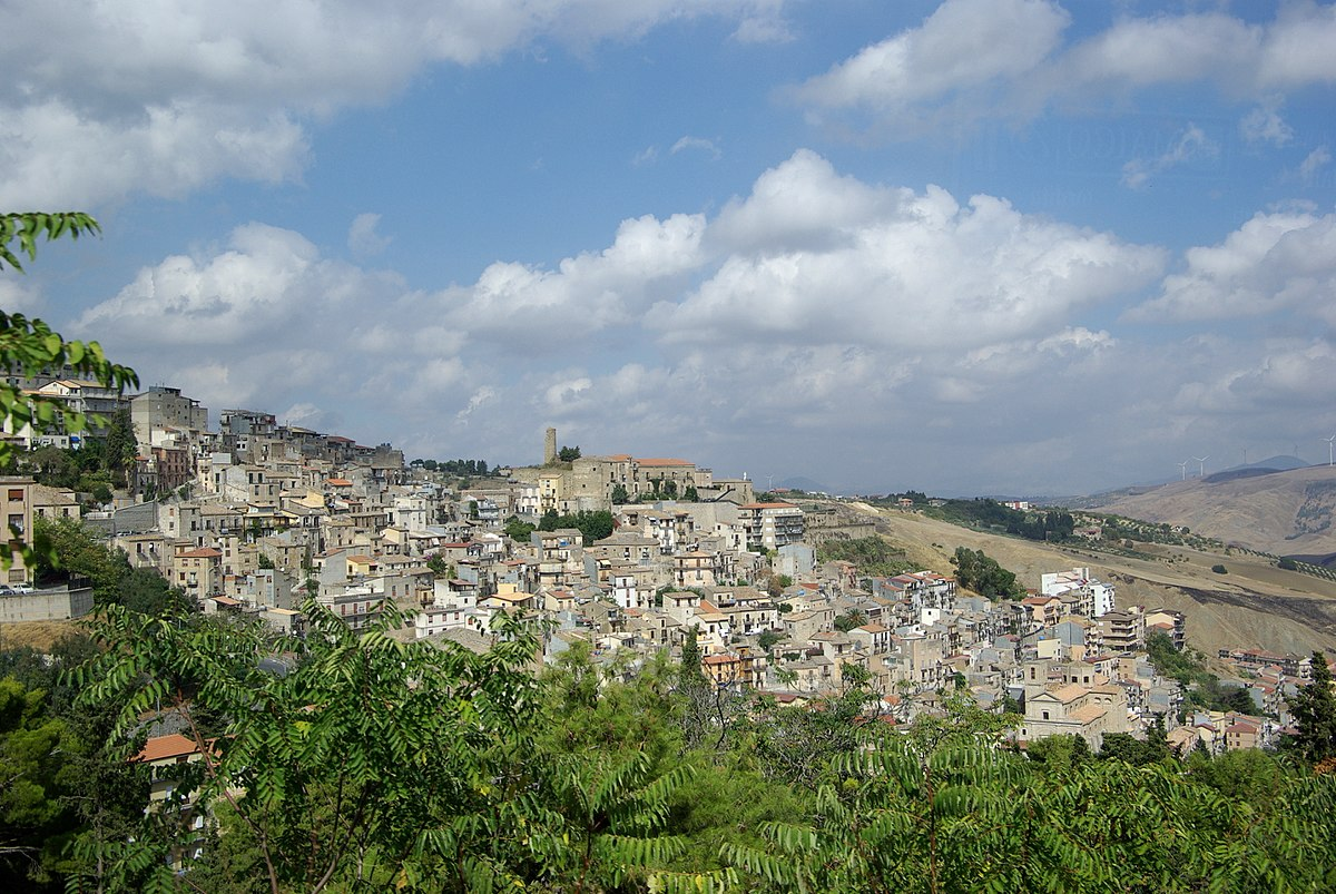 Cammarata, na ilha Sicília