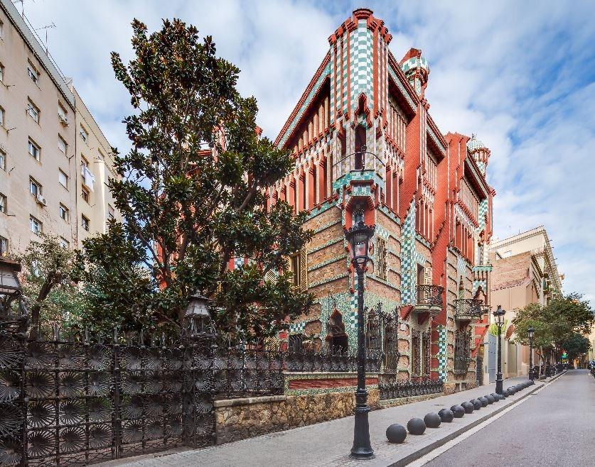 Passar a noite na Casa Vicens de Gaudí por um euro