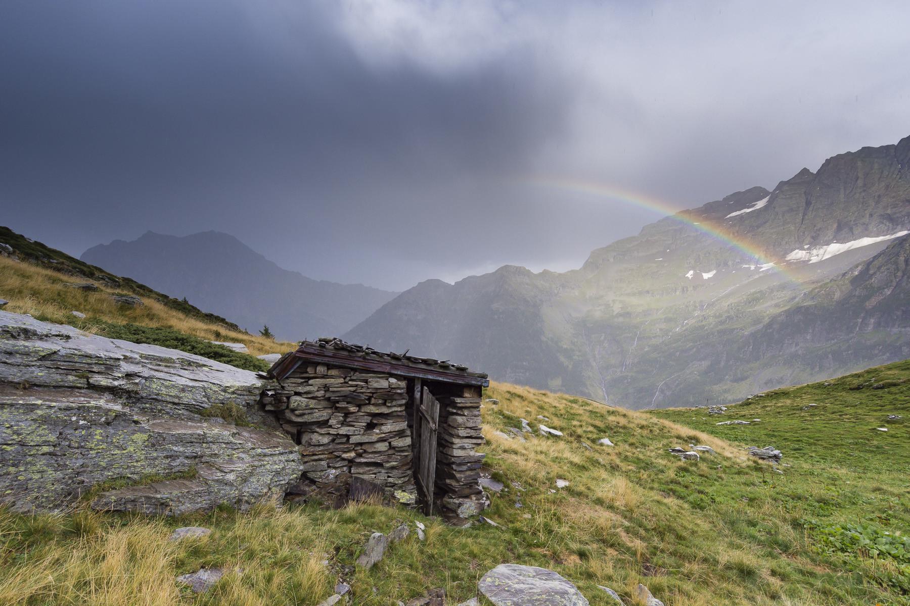 Casas de banho públicas nos Alpes suíços