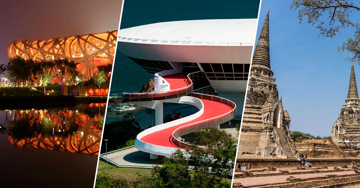 Obras arquitetónicas mais espantosas do mundo