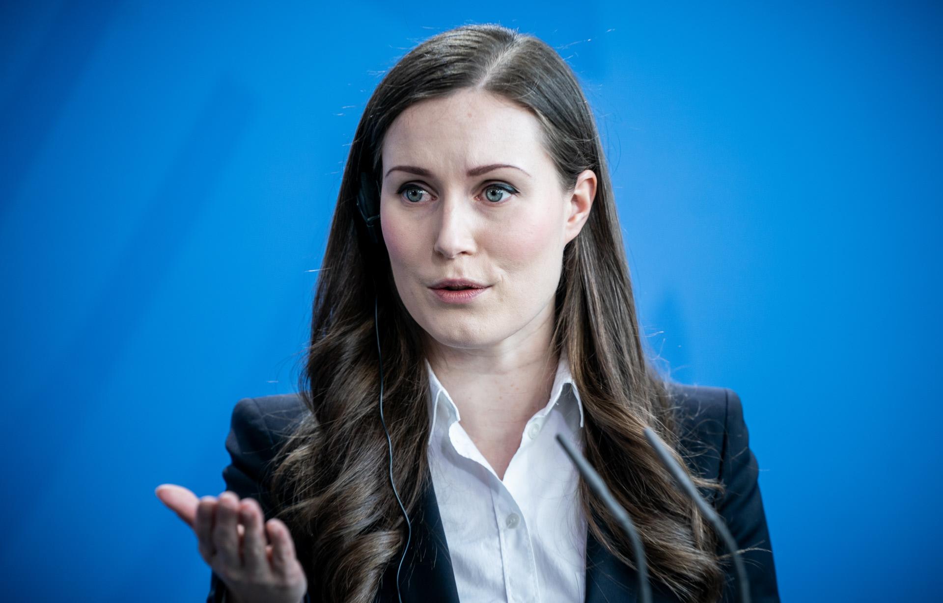 Sanna Marin, primeira-ministra finlandesa
