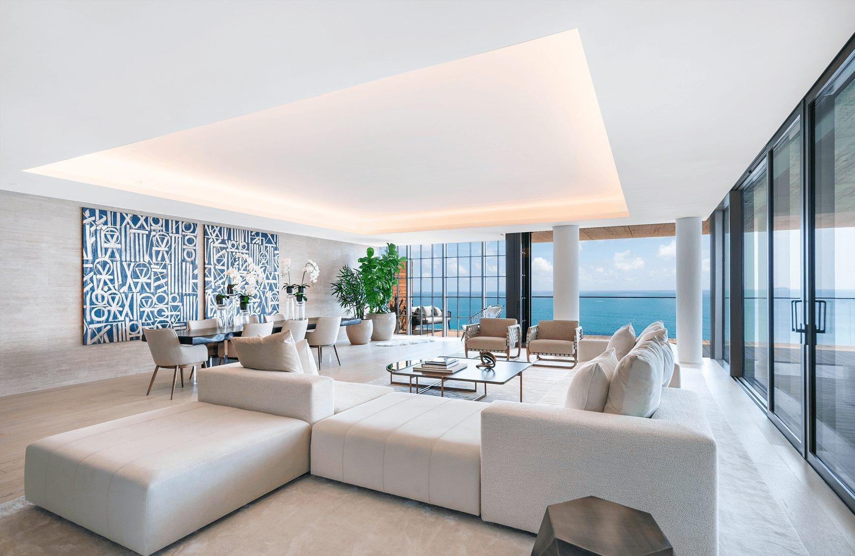 Apartamento junto ao mar