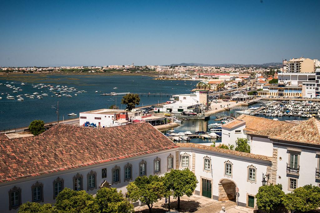 Prédios em Faro