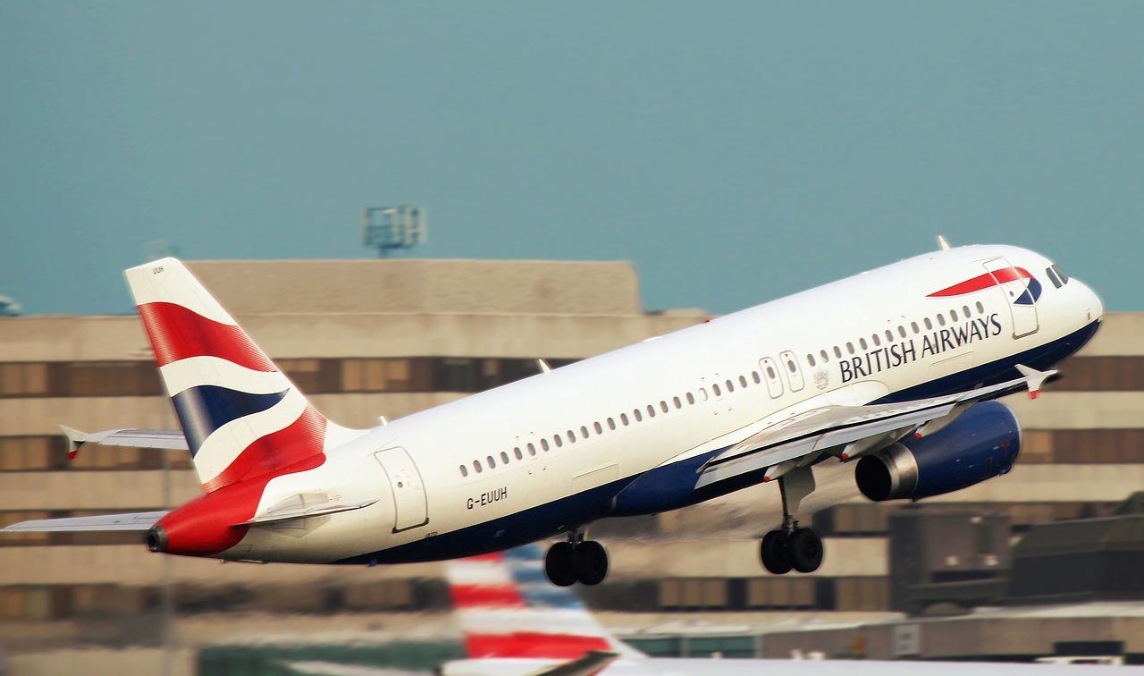 Viajar do Reino Unido de avião