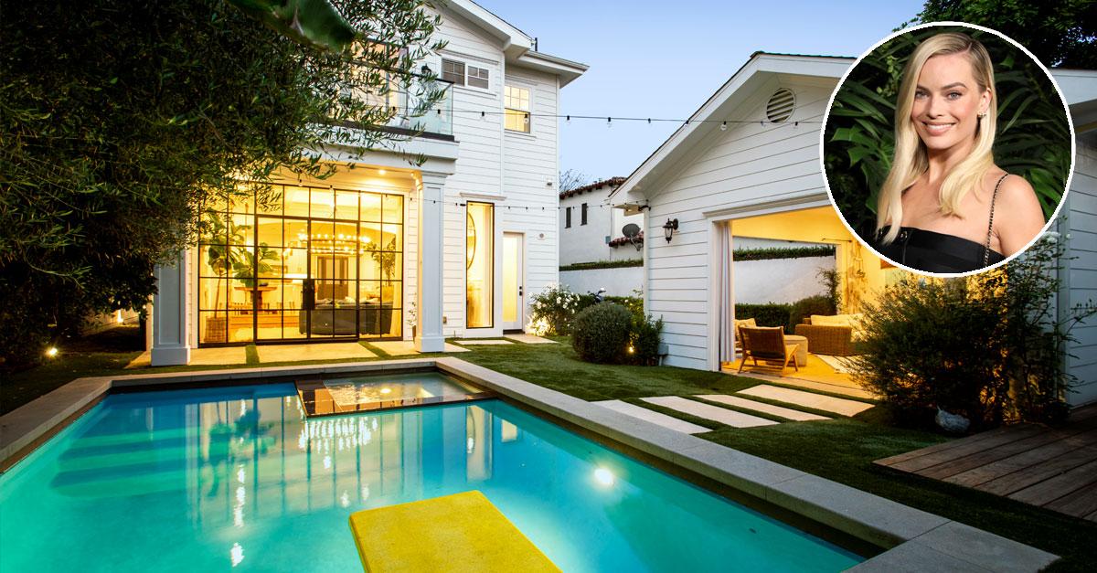 Casa de Margot Robbie à venda por 2,8 milhões