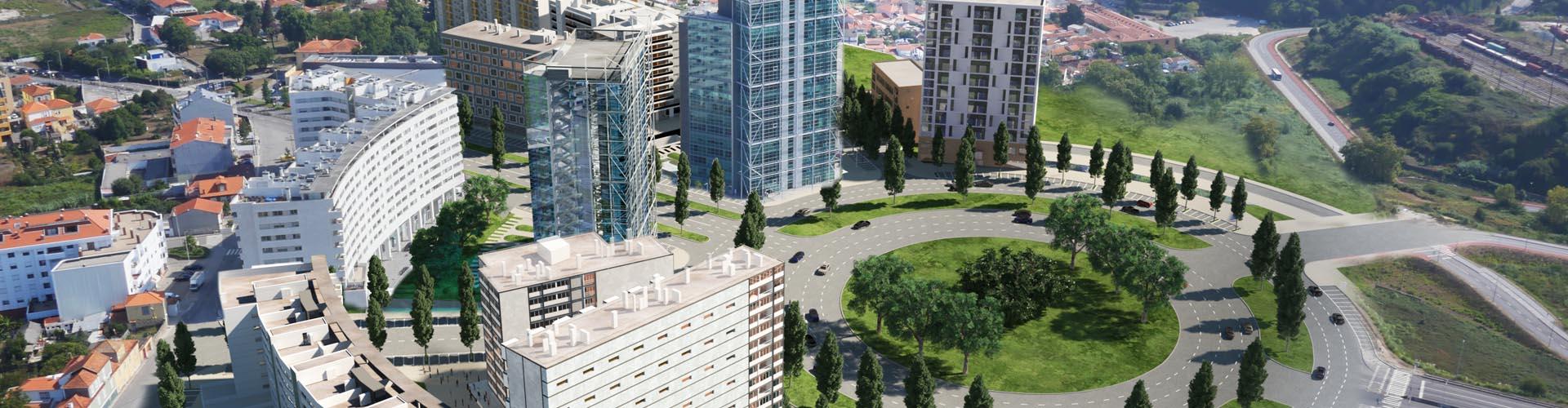 Santa Marinha Design District / Teixeira Duarte