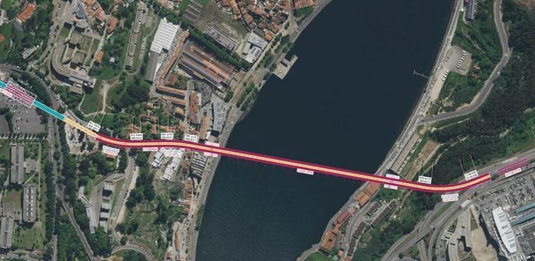 Nova ponte do Metro do Porto: há 27 propostas de todo o mundo a concurso