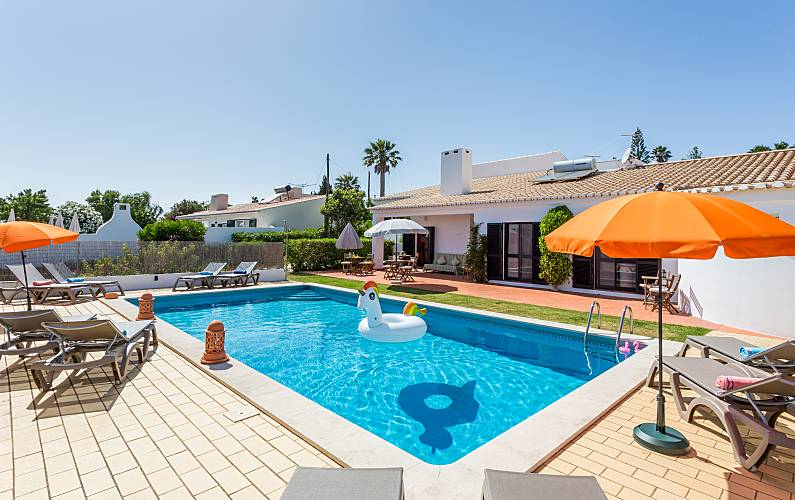 Casa de férias com piscina em Lagos