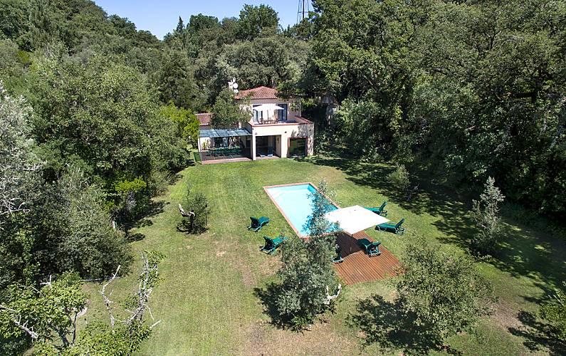 Casa de férias com piscina na Arrábida