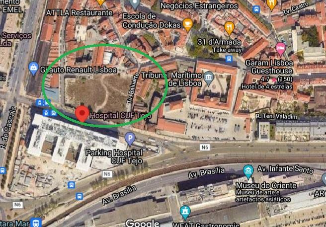 Megaprojeto imobiliário Lisbon Square nasce junto ao Tejo – em terrenos que eram do Santander