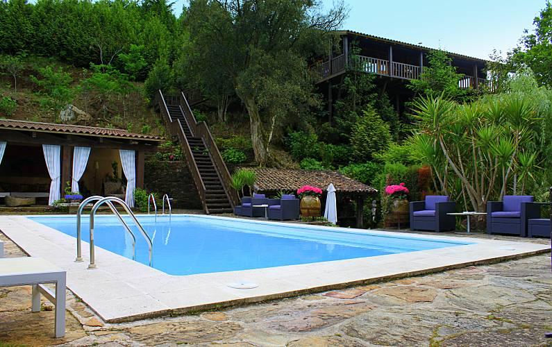 Casas com piscina para passar férias no norte
