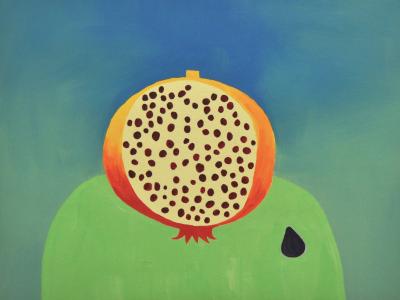 Pintura de Almudena Lanceolada por 1.300 euros (38x50 cm)