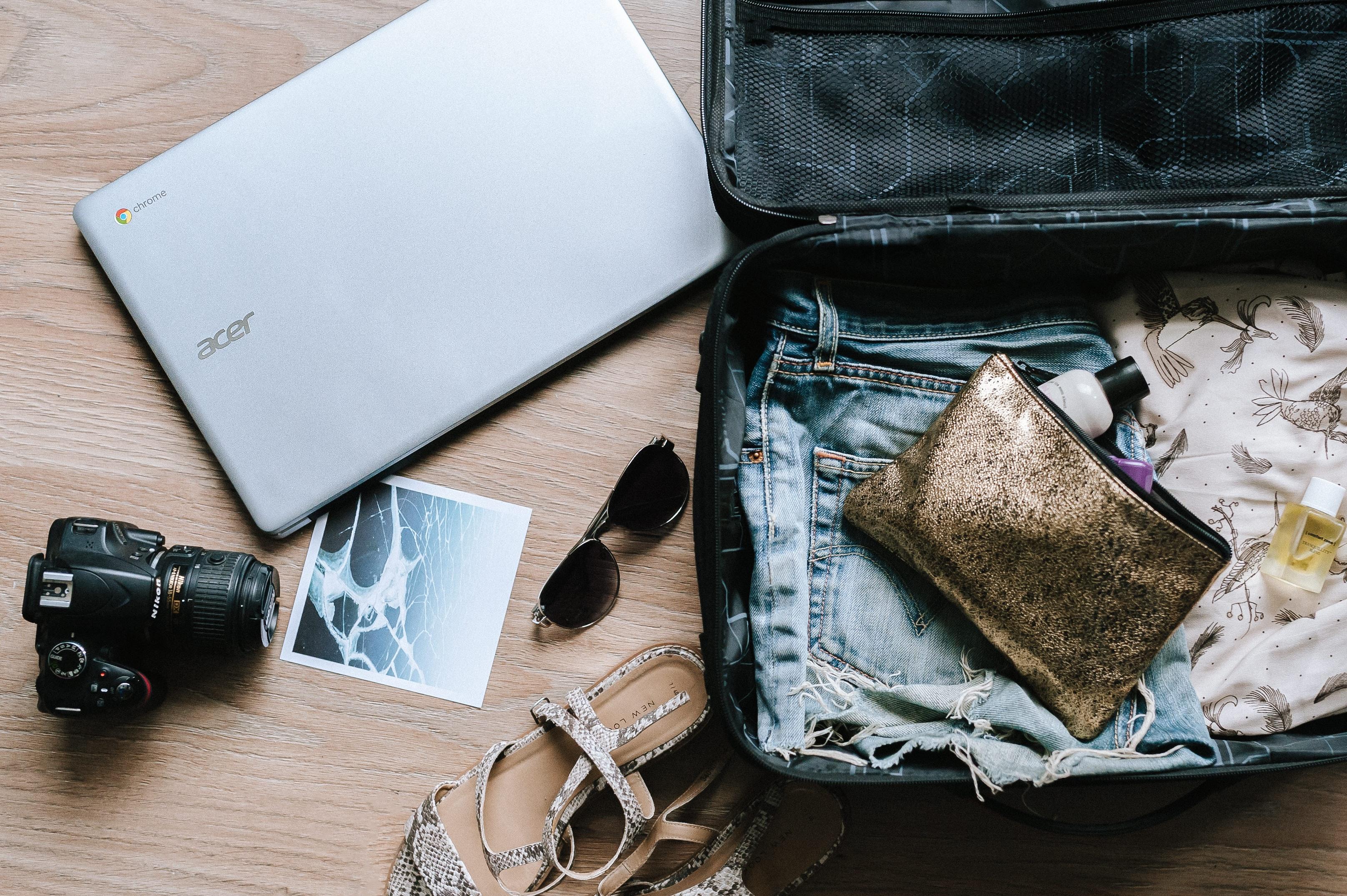 Como preparar a mala de viagem para as férias