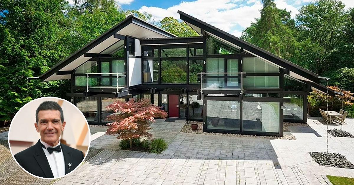 Antonio Banderas vende casa pré-fabricada de luxo por 3,5 milhões
