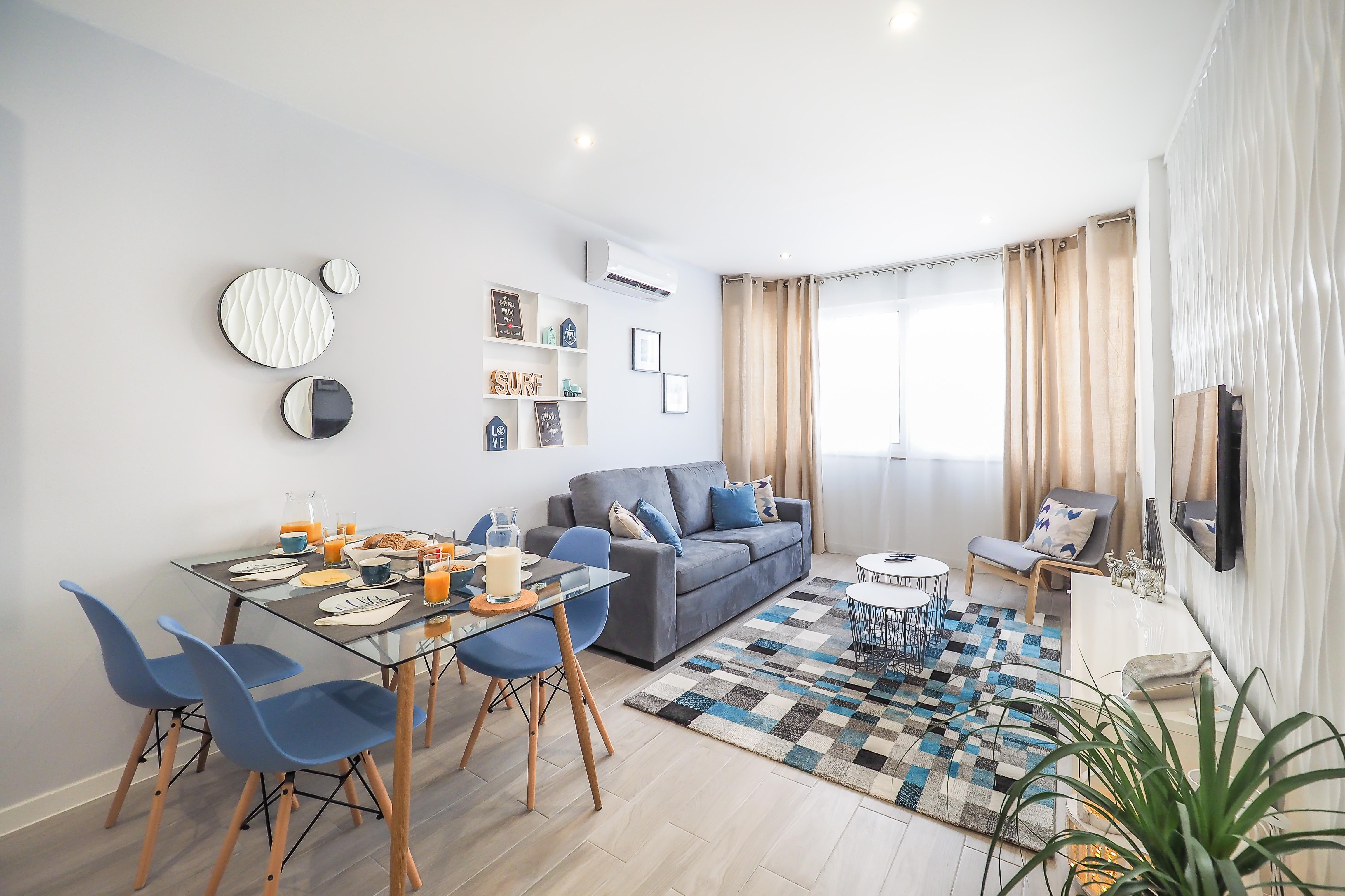 'Timeless Beach I', um apartamento T1  / Querido Investi Numa Casa!