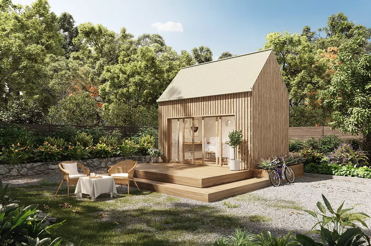 Esta casa pré-fabricada monta-se numa semana e custa menos de 30.000 euros