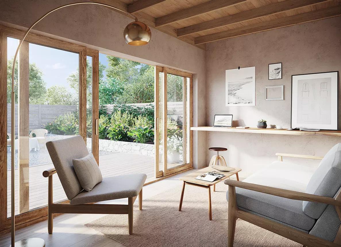 Casa pré-fabricada 'The Traveler' da Coexist Build