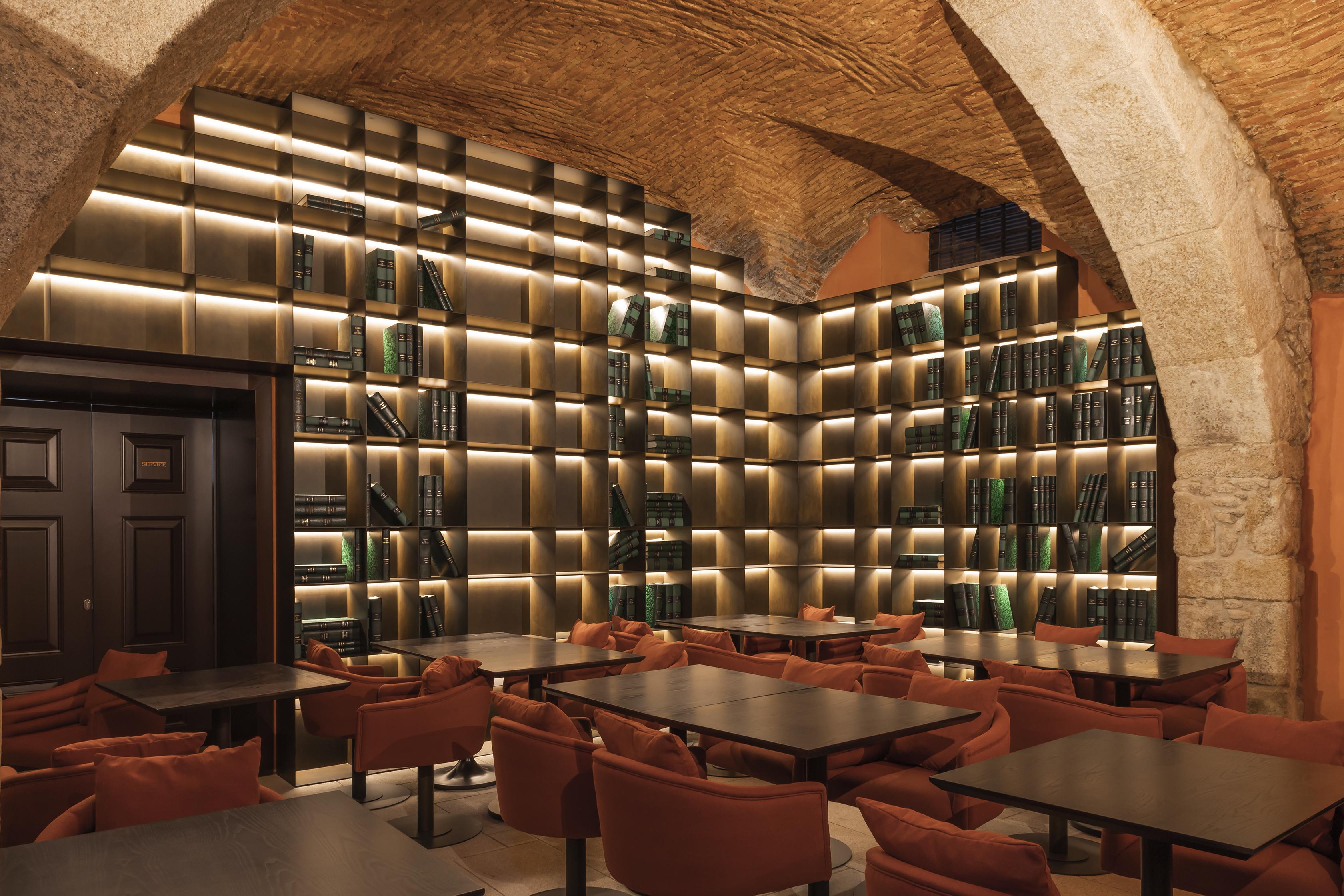 Bar no hotel Porto