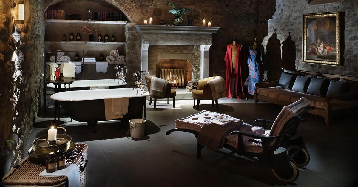 Este castelo italiano do século X foi transformado num luxuoso hotel