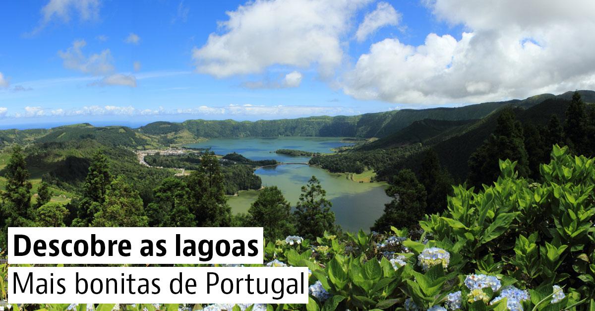 Lagoas mais bonitas de Portugal