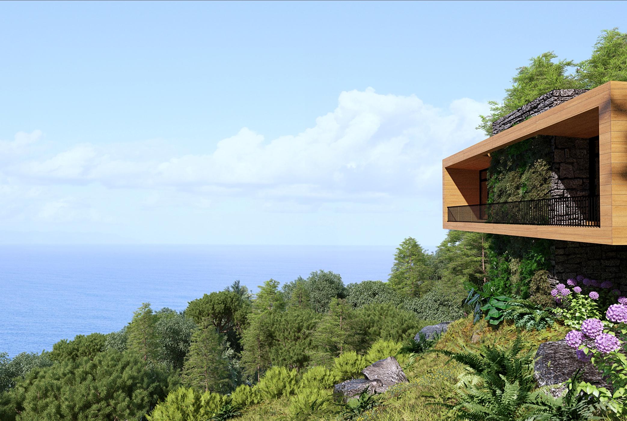 Casas novas nos Açores